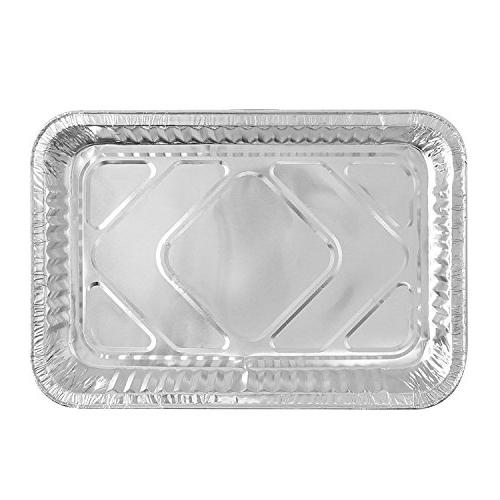 Party Foil Pan Quality Steam Pans Homemade Cakes, Size 12 X 1.75 | Pack of