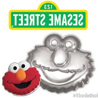 Wilton Elmo Face Cake Pan Mold  ~ Sesame Street Muppets by J