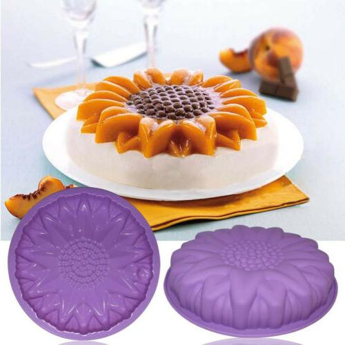 Flower Silicone Cake Pan Mould Home