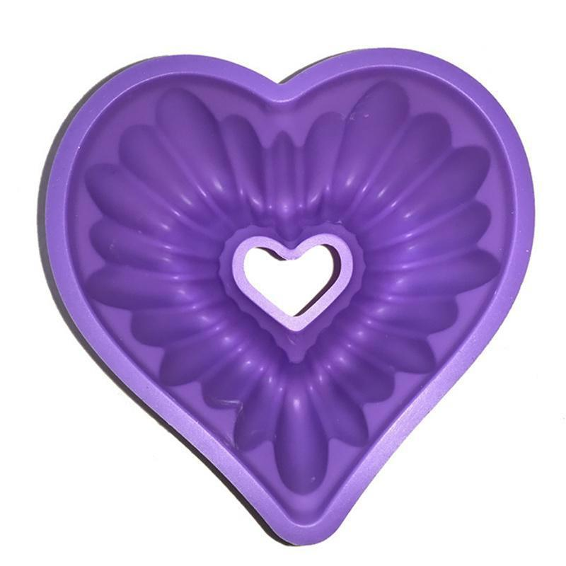Love Mold Silicone Baking Pastry Molds Bread Non-Stick
