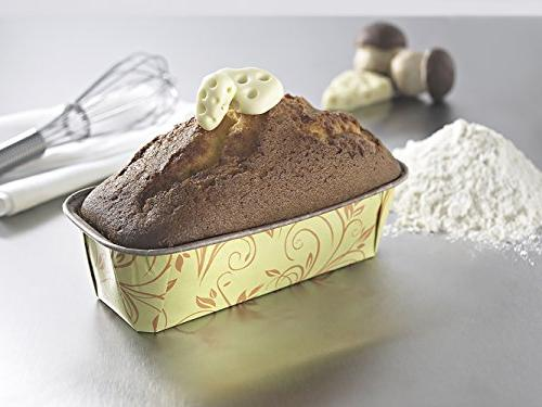 Premium Personal Paper Loaf Pan, Perfect Cake, Banana Bread Yellow of by EcoBake