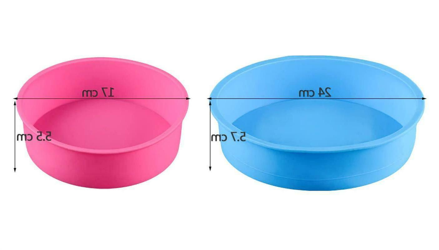 Mousse Moulds Silicone Kitchen Pastry
