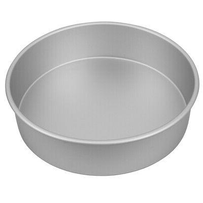 new silver anodised cake pan 27 5x7