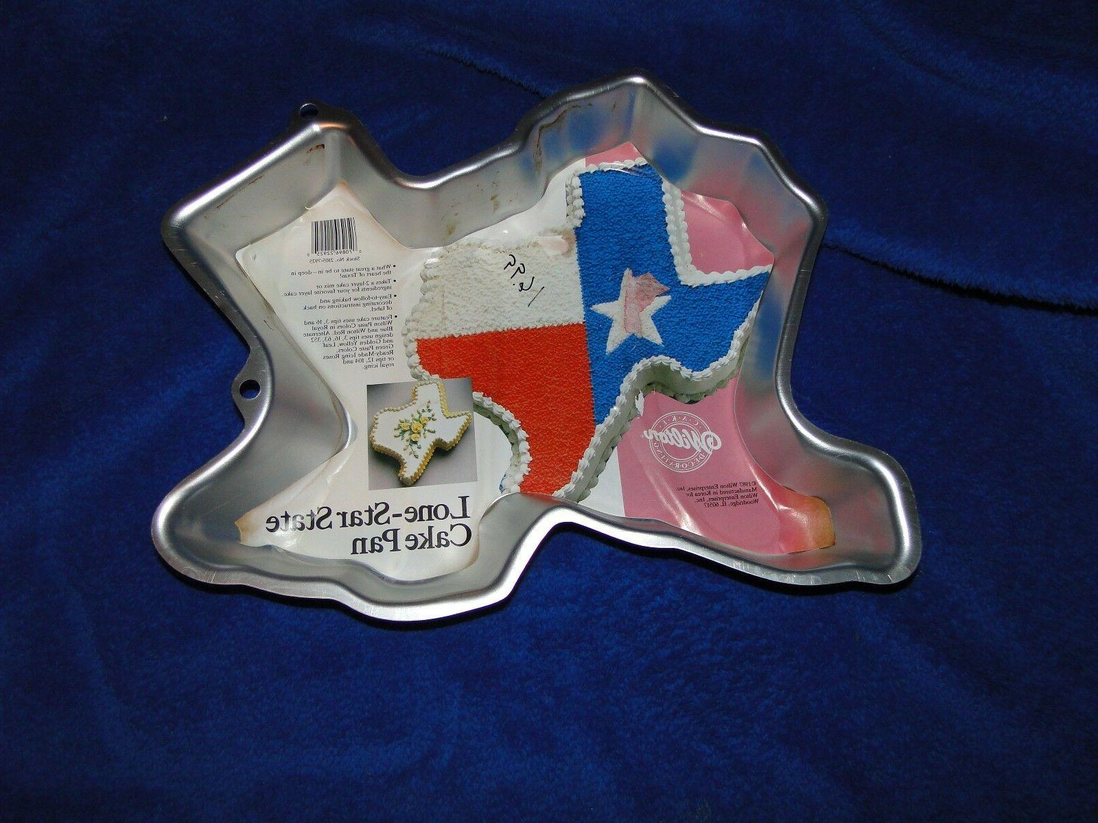 new vintage lone star state texas cake