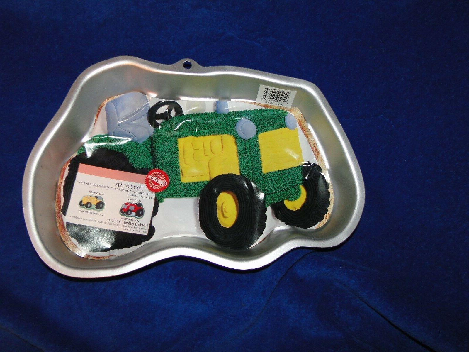 new vintage tractor cake pan 2105 2063