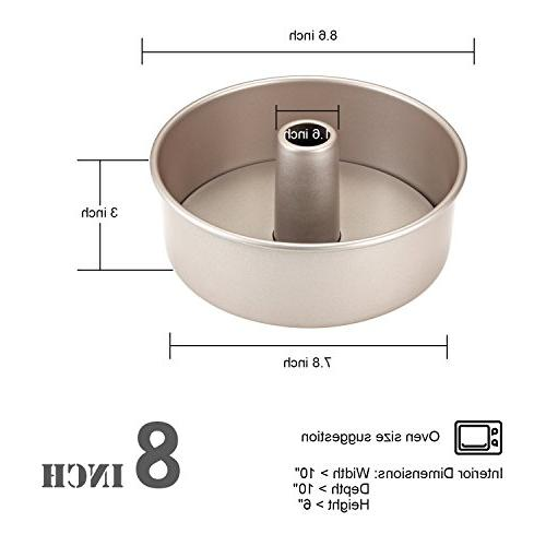 CHEFMADE Pan with Bottom, Non-stick Chiffon Mold, Approved for Oven
