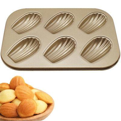 Non-stick Cookie Cake Biscuit Mold Baking Tray Home Kitchen DIY Tool