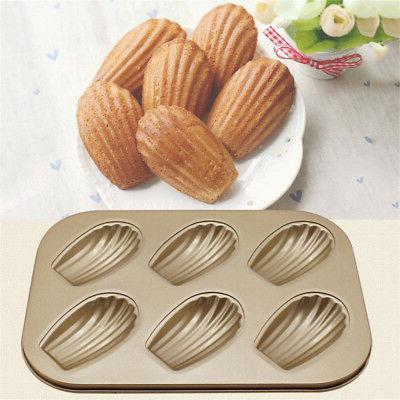 Non-stick Maker Cake Biscuit Mold Tray Kitchen Tool