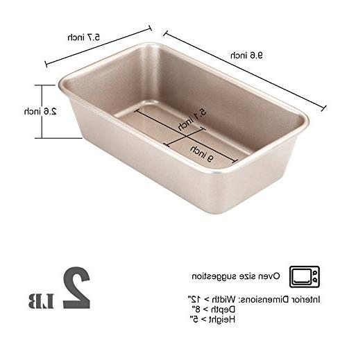 """CHEFMADE Loaf Pan, Non-stick Cake Pan, for Oven Baking x 5.7"""""""
