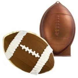 novelty cake pan football
