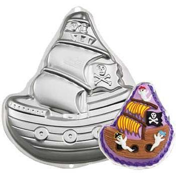 novelty cake pan pirate ship