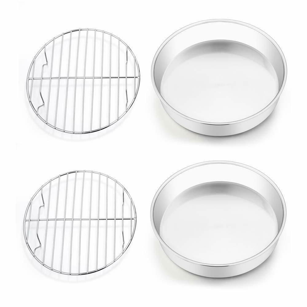 set of 4 8 inch cake pan