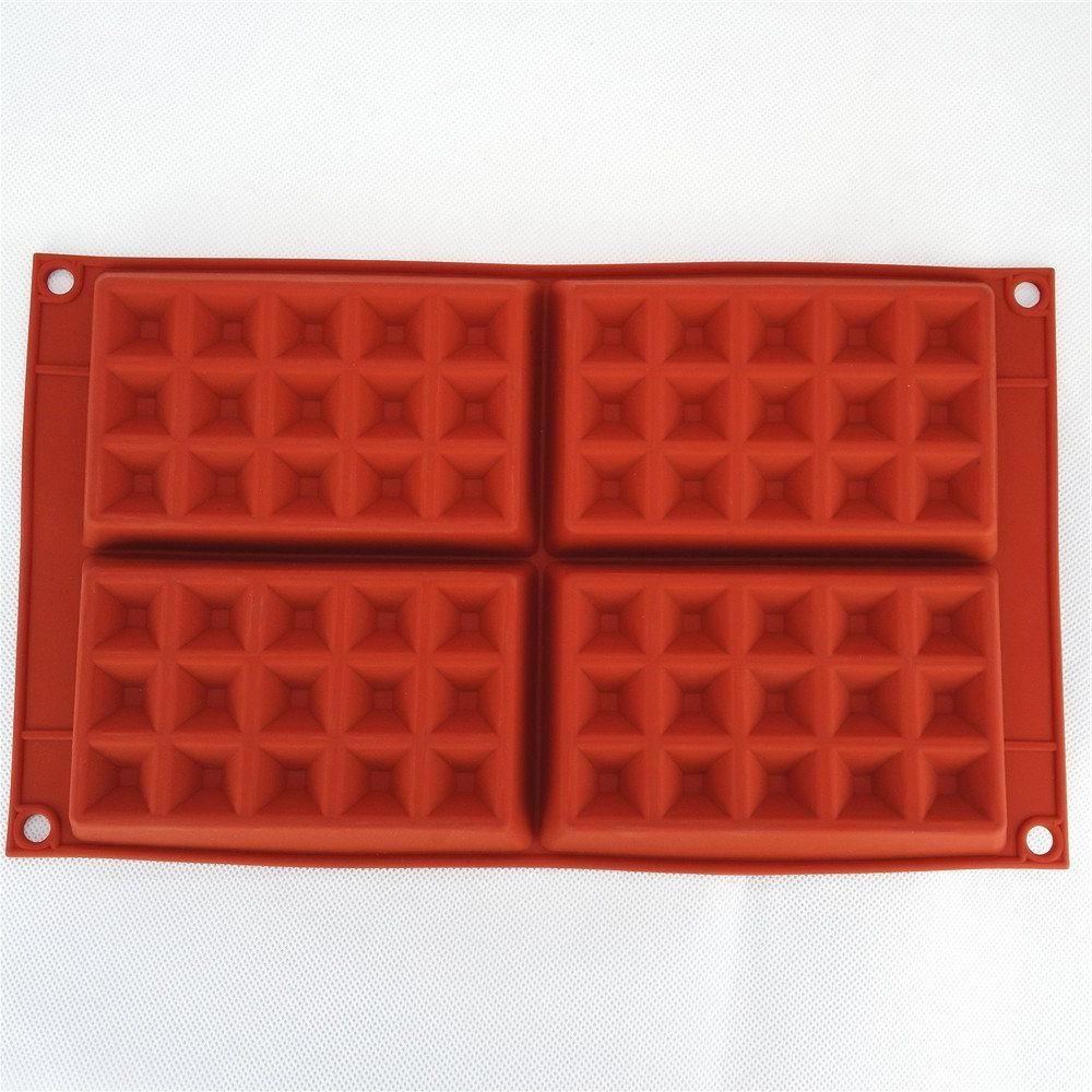 Silicone Baking Pan Cup Cake Cookie Mould Tray Mold