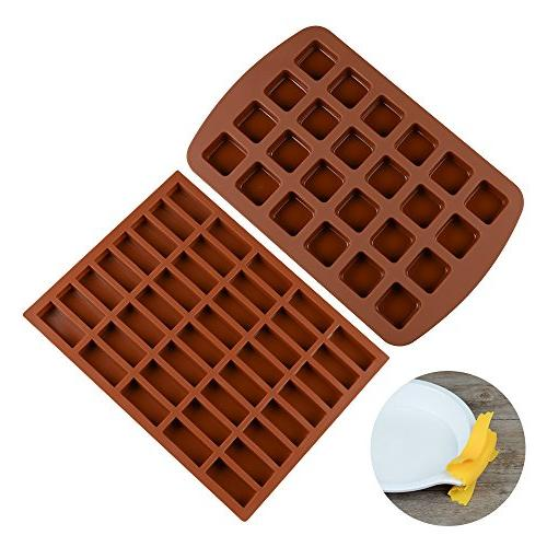 silicone brownie baking molds pan