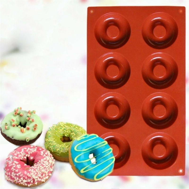 Silicone Donut Mold Muffin Chocolate Cake Cookie Baking Mould