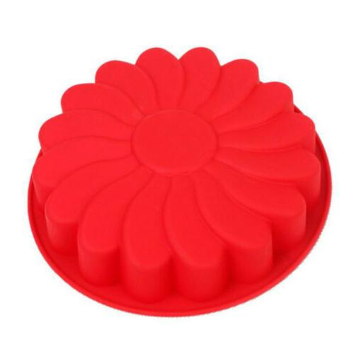 Silicone Large Flower Baking Soap Jelly SKH