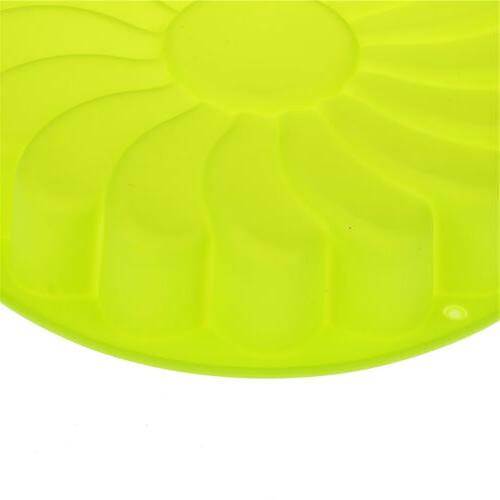 Silicone Large Flower Baking Pan Soap Candy Jelly Mold SKH