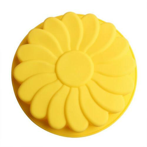 Silicone Baking Pan Mould Chocolate Soap SKH
