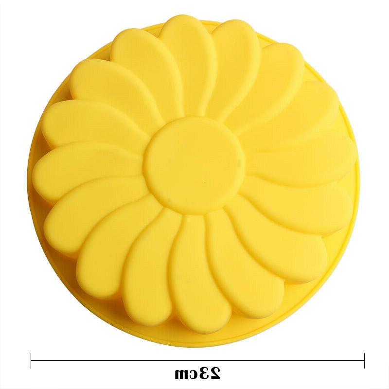 Silicone New Large Cake Mould Candy Pan