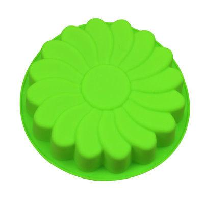 Silicone Flower Cake Candy Mold Pan
