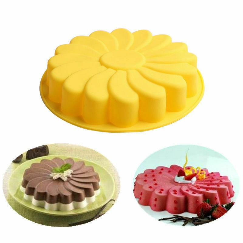 Silicone Cake Mould Chocolate Soap Candy Pan