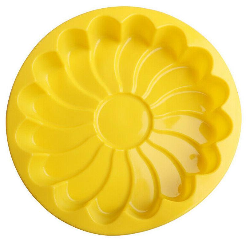 Silicone Large Flower Cake Mould Candy Jelly Mold Pan