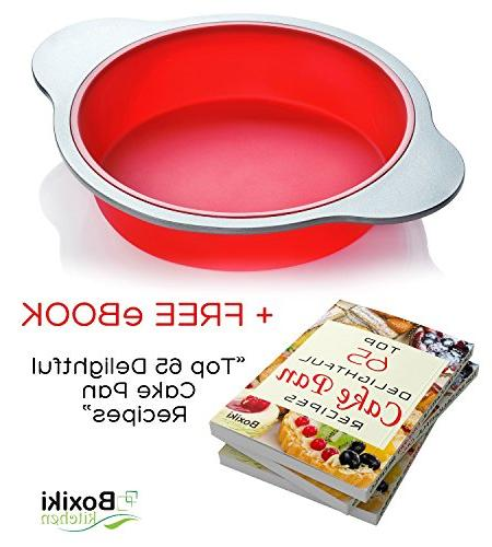 Large Cake Mold by Boxiki | Best Non-Stick |