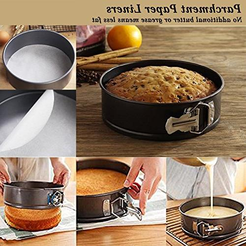 Springform Leakproof 3pcs Cheesecake Pan 50 Pcs by