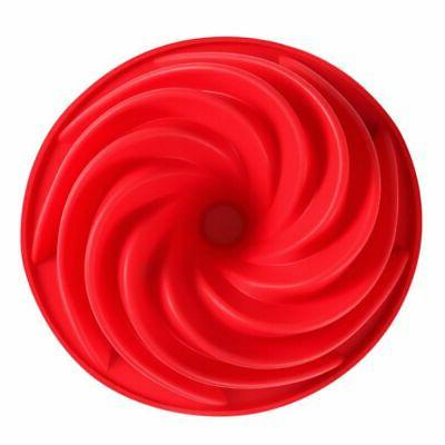 Swirl Bundt Ring Cake Bread Pan Bake Tool