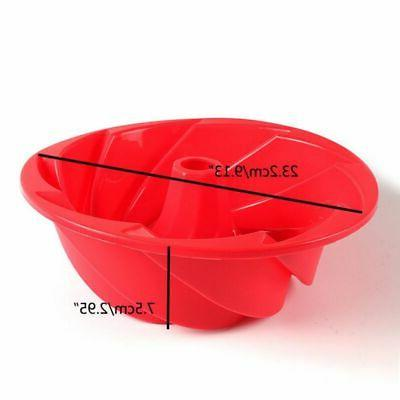 Swirl Bread Mold Pan Bake Mould Tool