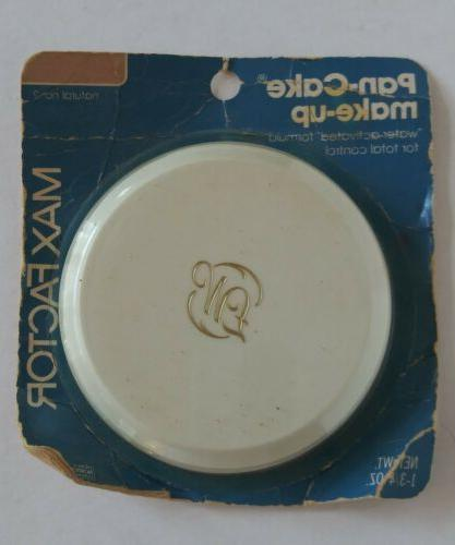 vintage nos water activated pan cake makeup
