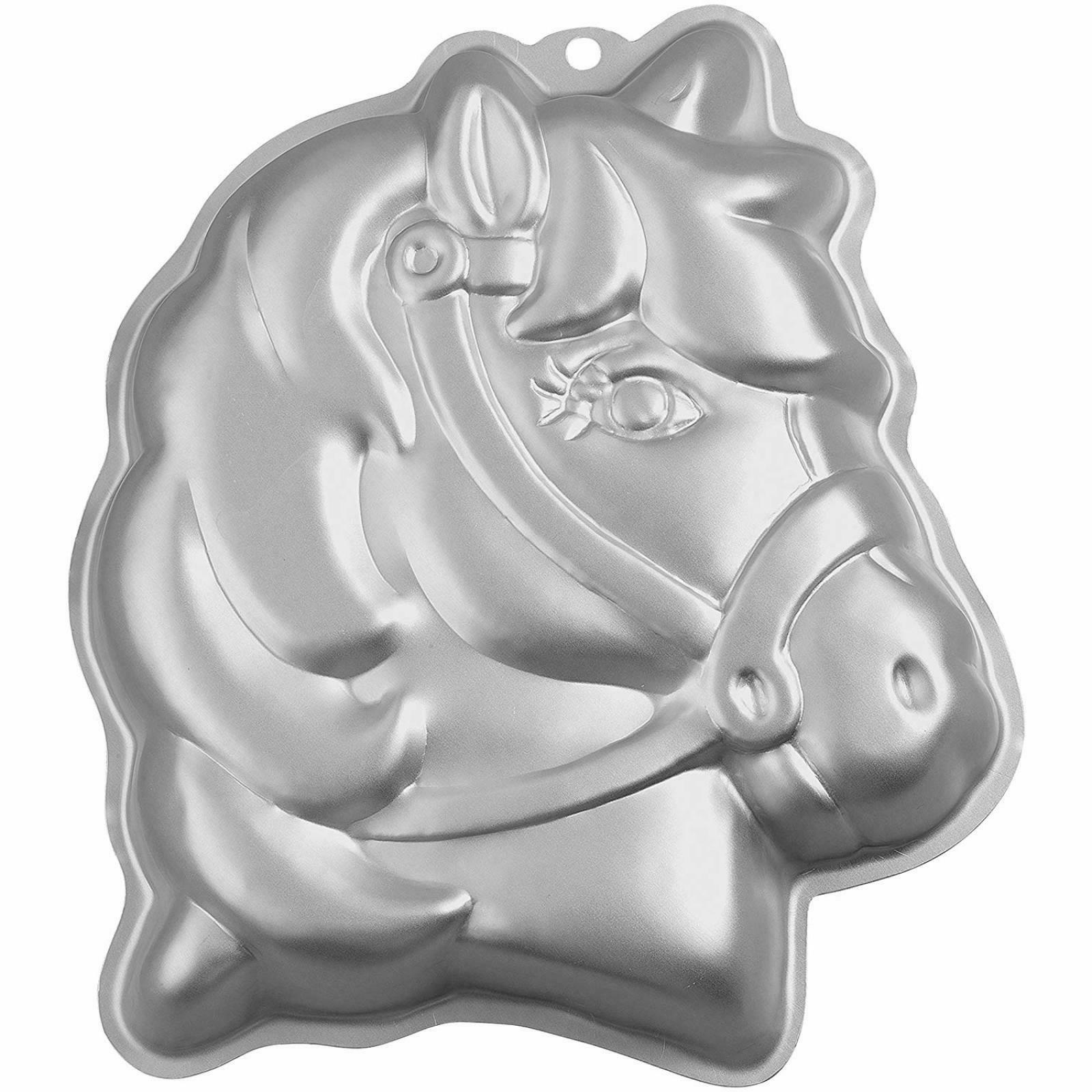 Wilton 3-D Pony Cake Baking Pan, Makes Perfect Horse or Unic