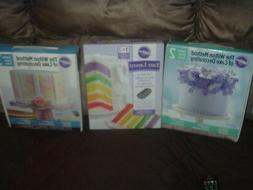 Wilton Large Lot of Cake Decorating Supplies-Courses New + 5
