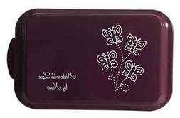 Laser Engraved Cake Pan w/Lid 6 Colors 24 Designs Custom Per