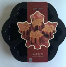Nordic Ware Maple Leaf Mini Cake Muffin Cupcake Autumn Fall