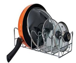 Metal Pot and Lid Organizer Multifunction Kitchen & pantry S