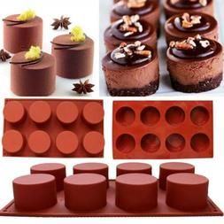 Mini Silicone Mold Muffin Pudding Mould Bakeware Cake Pan Ho