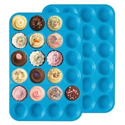 New <font><b>24</b></font> Hole Silicone Soap Cookies Cupcak