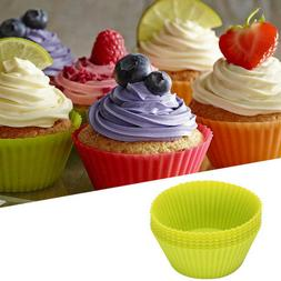 NEW Mini Silicone Cup Cake Pan Mold Muffin Cupcake Form to B