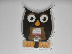 New CK Products OWL BABY SHOWER Party PLASTIC CAKE PAN 49-82