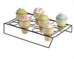 Nifty Ice Cream Cone Cupcake Baking Rack New