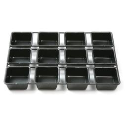 Norpro Non-stick 12 Cavity Cupcake Pan, Square