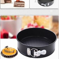 Non-Stick Coated Round Cake Mold Baking Pan Tray Home Kitche