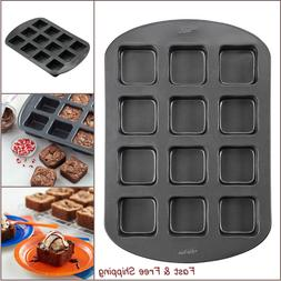 non stick coating brownie bar pan 12