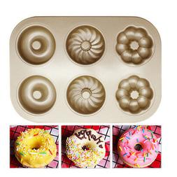 Non-stick Cookie Maker Pan Cake Biscuit Mold Baking Tray Hom