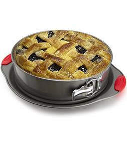 Non-Stick Springform Pan by Boxiki Kitchen | 2-in-1 Cheeseca