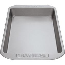 Farberware Nonstick Bakeware Rectangular Cake Pan, Gray