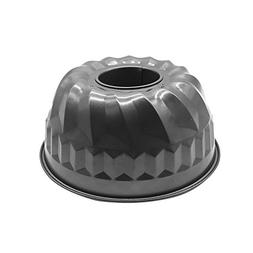 HOMOW Nonstick Heavy Duty 9 inch Fluted Tube Cake Pan, Warp
