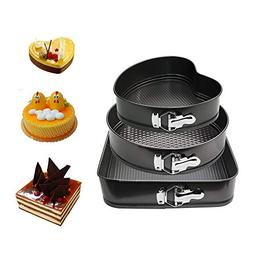 WARM MAISON Nonstick Springform Pan Set Leakproof 10.5inch S