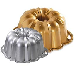 Set of 2 Nordic Ware Cake Anniversary Bundt Pans - 15 and 6